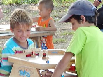 animation kermesse jeux en bois