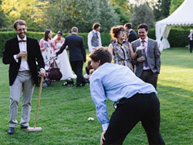 animation mariage croquet garden party