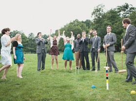 animation mariage adultes croquet