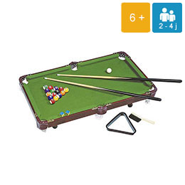 animation-jeux-geants-Billard de table