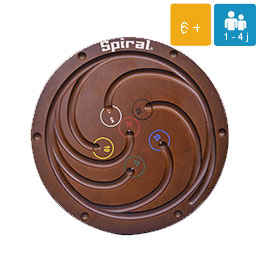 animation-jeux-geants-Spiral Billard 112cm