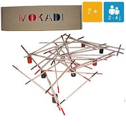 Mokadi géant jeu en bois