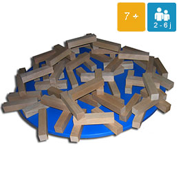 Tasso géant jeu en bois